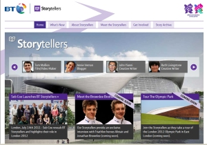 olympic storytellers live site