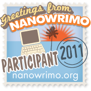 national novel writing month participant badge for 2011