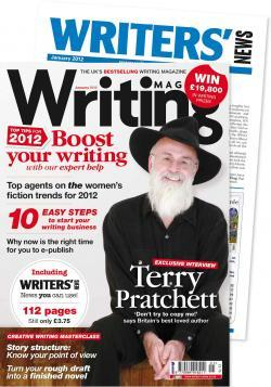 Writing Magazine, Ruth Livingstone story in this edition