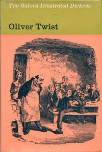 Cover from the Oxford Illustrated Dickens, Oliver Twist