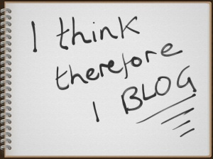 I think, I blog - Ruth Livingstone note book