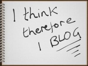 I think, I blog - Ruth Livingstone note book