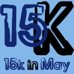15K in May Logo