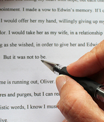 editing novel  - Ruth Livingstone