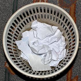 wastepaper basket - Ruth Livingstone