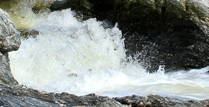 flowing water illustrating creative juices, for writes