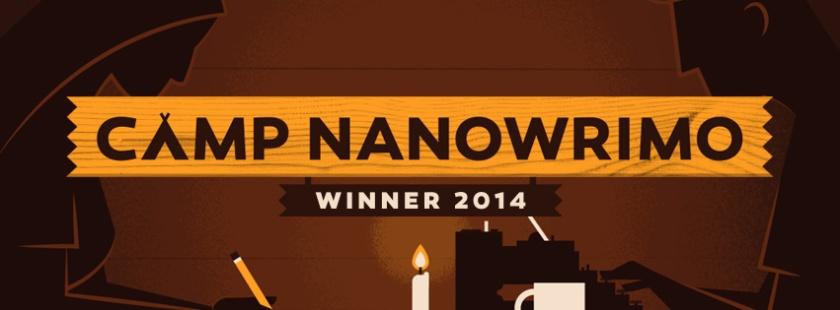 2014-Camp NaNo Winner banner