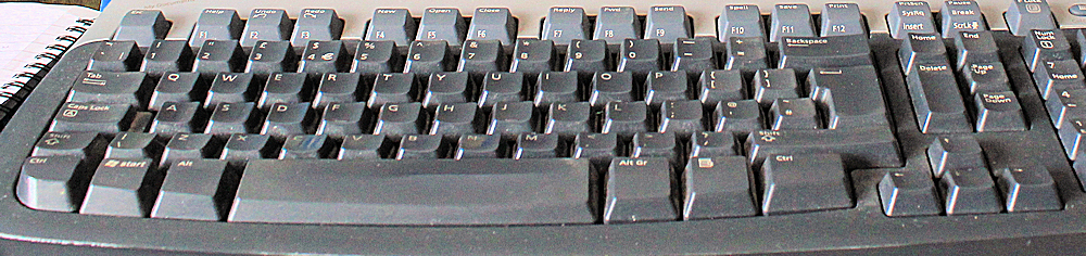 writing, blogging, editing, keyboard is indispensable, Ruth Livingstone