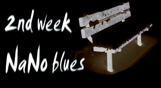 2nd week NaNo blues - Ruth Livingstone