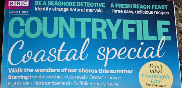 Countryfile magazine: Coastal Wonders