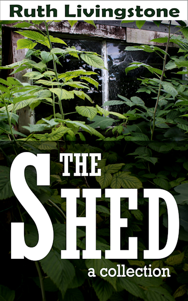 The SHED. A booklet of short stories. Ruth Livingstone author.