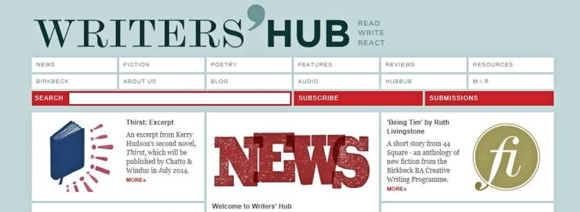 Short story on the Writers' Hub , author Ruth Livingstone